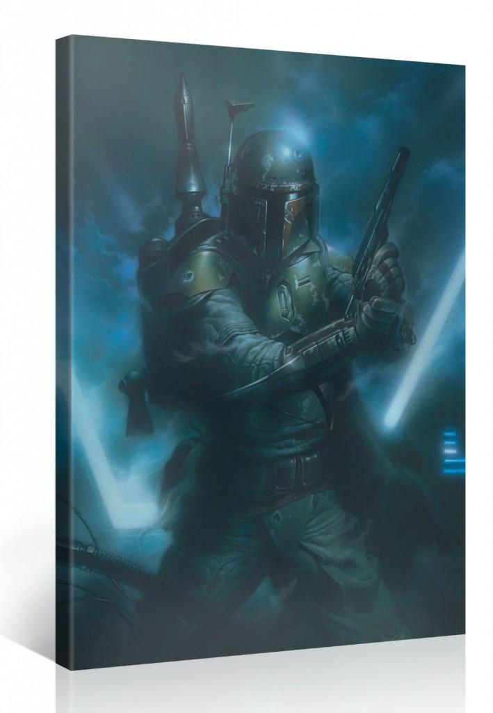 Boba Fett Star Wars Kunstdruck