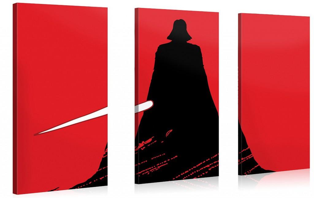 Darth Vader Star Wars Kunstdruck
