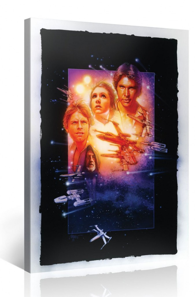 Episode 4 Star Wars Kunstdruck