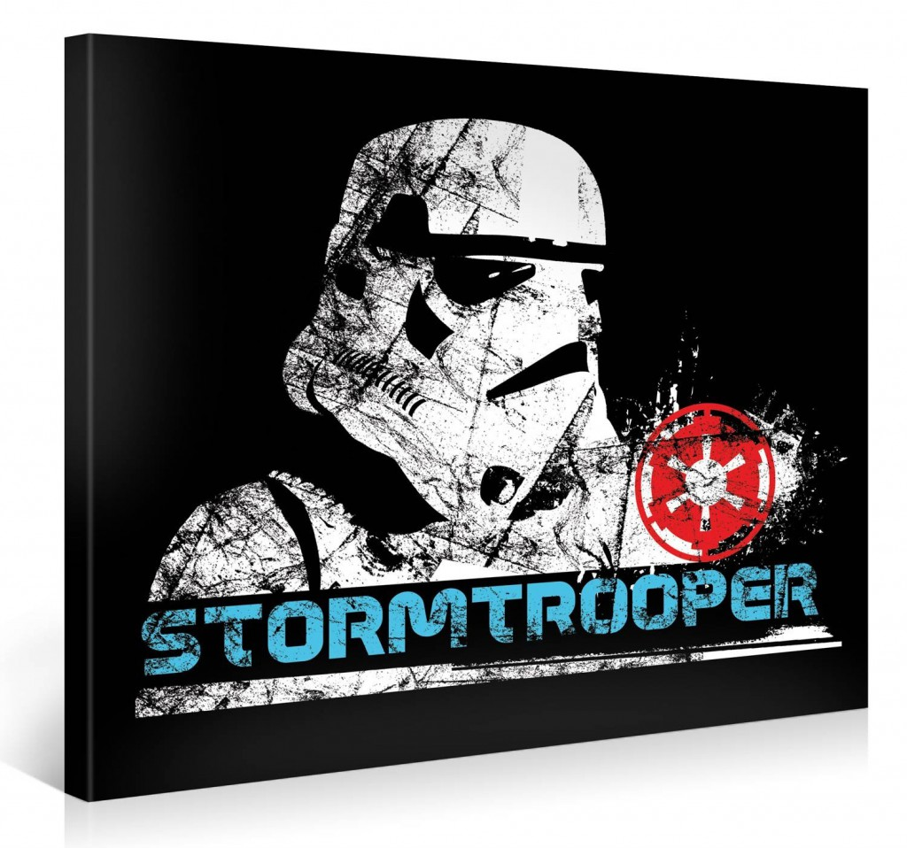 Stormtrooper Star Wars Kunstdruck