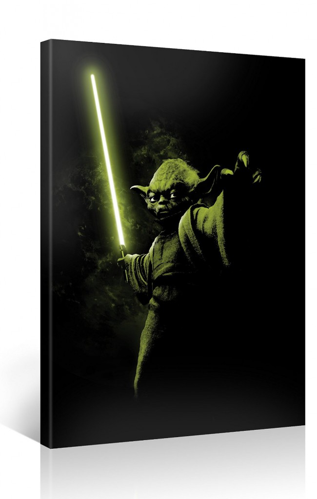 Yoda Star Wars Kunstdruck