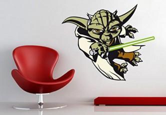 Star Wars Wandtattoo Yoda