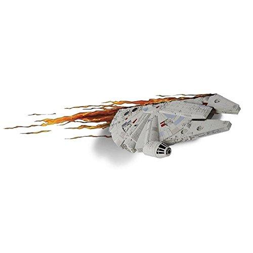 Star Wars Millennium Falke 3D Dekolampe
